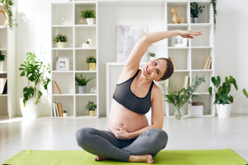 beneficios del pilates en embarazadas